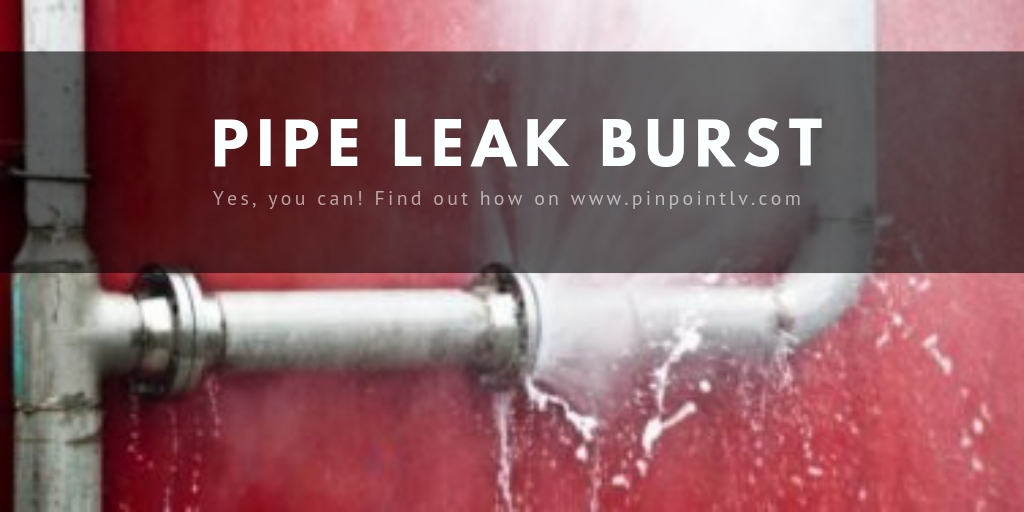 Burst Pipe and Water Leak Damage